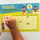 Planner de atividades escolares Raizler